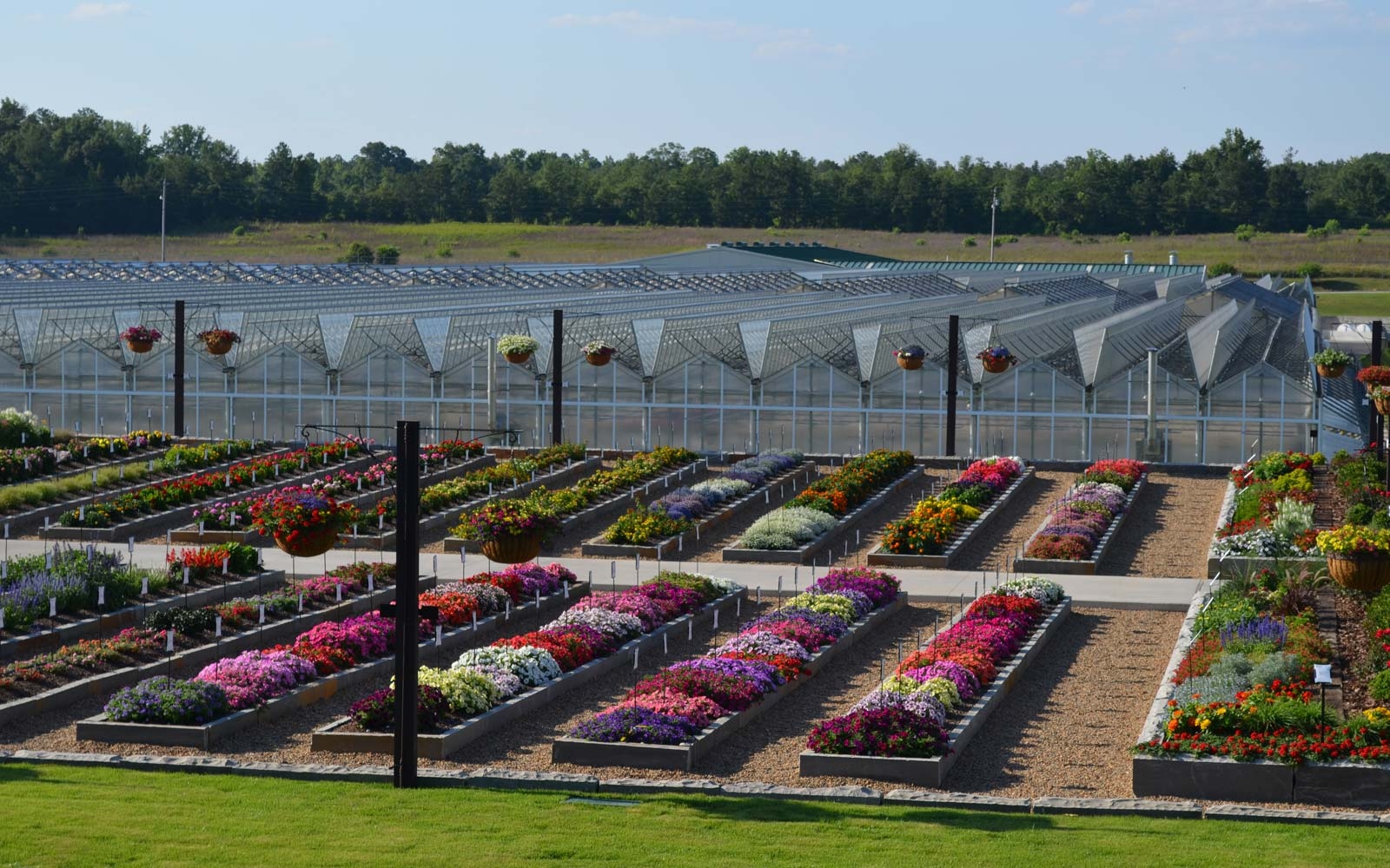 Trial Garden and Greenhouses